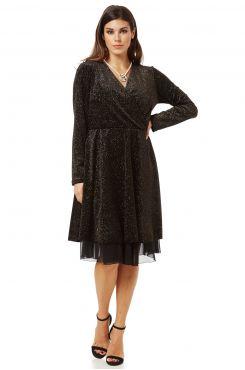WRAPAROUND DRESS    DRESSES
