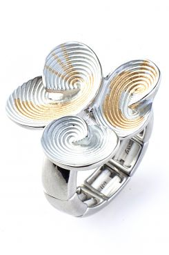 ELASTIC RING WITH SHELLS    RINGS
