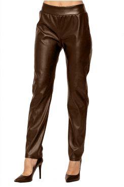 BROWN LEATHER LEGGING PANTS  | PANTS/SKIRTS