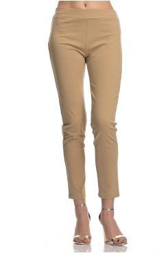 BEIGE LEGGING PANTS  | PANTS/SKIRTS