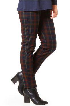 CHECKERED LEGGING PANTS  | PANTS/SKIRTS