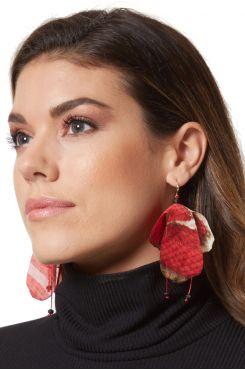 FABRIC EARRINGS    EARINGS