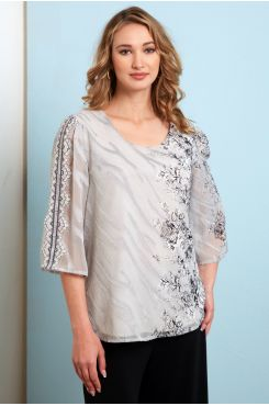 FLOWER PATTERNED BLOUSE  | BLOUSES/SHIRTS